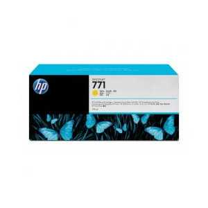 HP 771 Yellow genuine OEM ink cartridge - CE040A