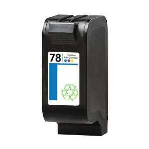 Remanufactured HP 78 Tricolor ink cartridge, C6578DN
