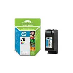 HP 78 Tricolor genuine OEM ink cartridge - C6578DN