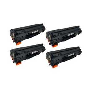 Remanufactured HP 78A toner cartridges, 4 pack