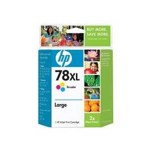 HP 78XL Tricolor High Yield genuine OEM ink cartridge - C6578AN