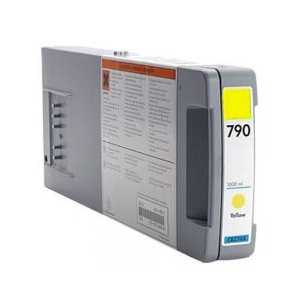 Remanufactured HP 790 Yellow ink cartridge, CB274A