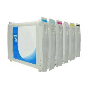Remanufactured HP 792 ink cartridges, 6 pack