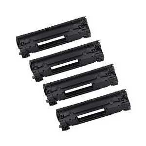 Remanufactured HP 79A toner cartridges, 4-pack