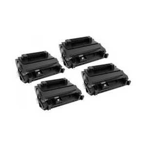 Remanufactured HP 81A toner cartridges, 4 pack