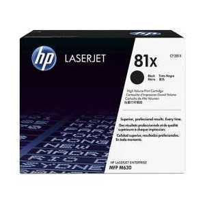 Original HP 81X Black toner cartridge, High Yield, CF281X, 25000 pages