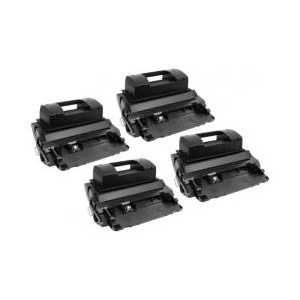 Compatible HP 81X toner cartridges, High Yield, 4 pack