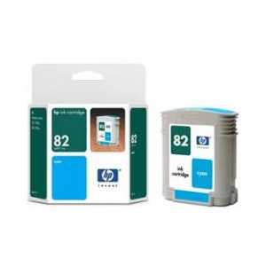 Original HP 82 Cyan ink cartridge, CH566A