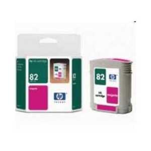 HP 82 Magenta genuine OEM ink cartridge - CH567A
