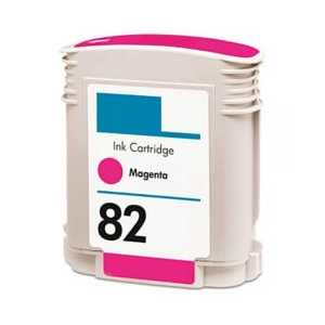 Remanufactured HP 82XL Magenta ink cartridge, High Yield, C4912A