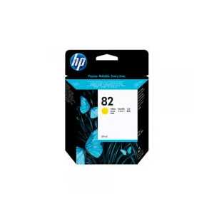 Original HP 82XL Yellow ink cartridge, High Yield, C4913A