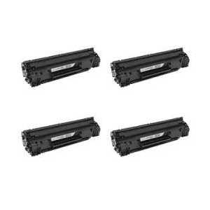 Compatible HP 83X toner cartridges, High Yield, CF283X, 4 pack