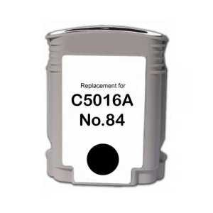 Remanufactured HP 84 Black ink cartridge, C5016A