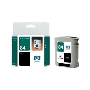Original HP 84 Black ink cartridge, C5016A
