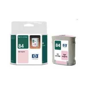 Original HP 84 Light Magenta ink cartridge, C5018A