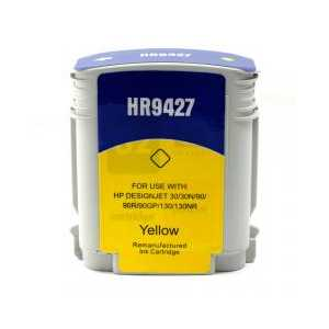 HP 85 Yellow remanufactured ink cartridge - C9427A