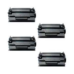 Compatible HP 87A toner cartridges, CF287A, 4 pack