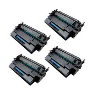 Compatible HP 87X toner cartridges, High Yield, CF287X, 4 pack