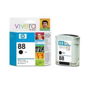 Original HP 88 Black ink cartridge, C9385AN