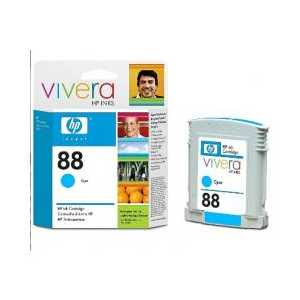 Original HP 88 Cyan ink cartridge, C9386AN