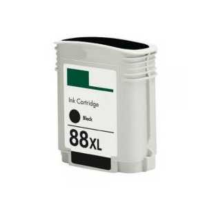 Remanufactured HP 88XL Black ink cartridge, High Yield, C9396AN