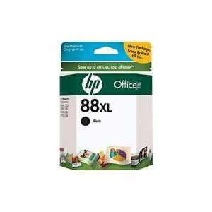 Original HP 88XL Black ink cartridge, High Yield, C9396AN