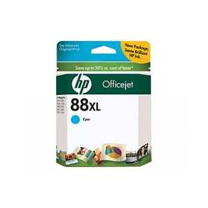 Original HP 88XL Cyan ink cartridge, High Yield, C9391AN