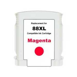 Remanufactured HP 88XL Magenta ink cartridge, High Yield, C9392AN