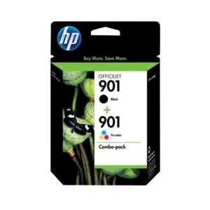 Multipack - HP 901 genuine OEM ink cartridges - CN069FN - 2 pack