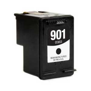 Remanufactured HP 901 Black ink cartridge, CC653AN