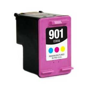 Remanufactured HP 901 Color ink cartridge, CC656AN