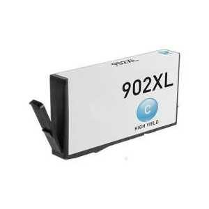 Remanufactured HP 902XL Cyan ink cartridge, High Yield, T6M02AN