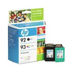 Multipack - HP 92 / HP 93 genuine OEM ink cartridges - C9513FN - 2 pack