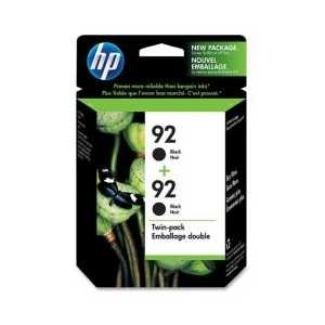 Multipack - HP 92 genuine OEM ink cartridges - C9512FN - 2 pack