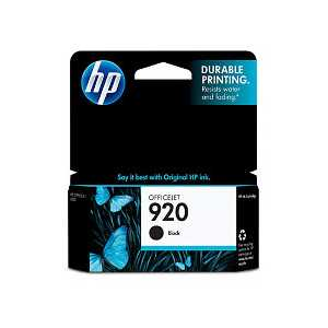 Original HP 920 Black ink cartridge, CD971AN
