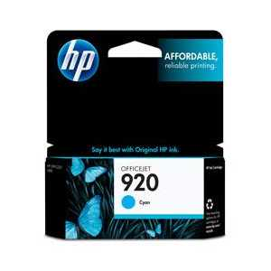 HP 920 Cyan genuine OEM ink cartridge - CH634AN#140