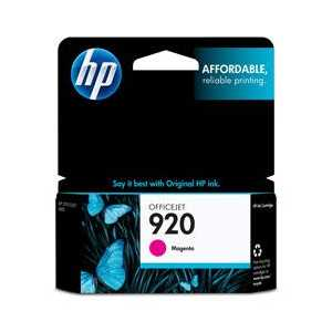 Original HP 920 Magenta ink cartridge, CH635AN
