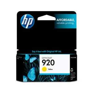 HP 920 Yellow genuine OEM ink cartridge - CH636AN