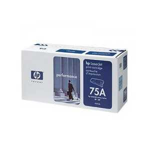 original hp 75a black toner cartridge 92275a 3500 pages