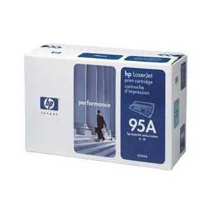 Original HP 95A Black toner cartridge, 92295A, 4000 pages