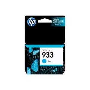 Original HP 933 Cyan ink cartridge, CN058AN