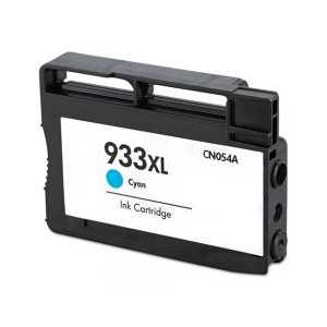 Remanufactured HP 933XL Cyan ink cartridge, High Yield, CN054AN
