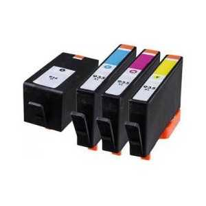 Multipack - HP 934XL / HP 935XL remanufactured ink cartridges - 4 pack
