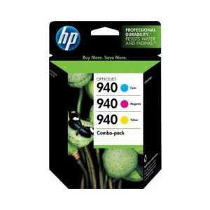 Multipack - HP 940 genuine OEM ink cartridges - CN065FN - 3 pack