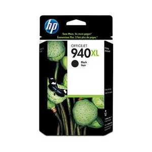 Original HP 940XL Black ink cartridge, High Yield, C4906AN