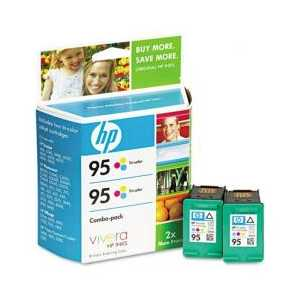 Multipack - HP 95 genuine OEM ink cartridges - CD886FN - 2 pack