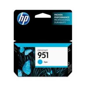 Original HP 951 Cyan ink cartridge, CN050AN