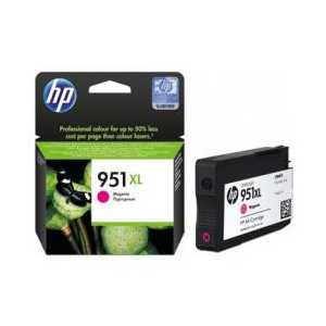 Original HP 951XL Magenta ink cartridge, High Yield, CN047AN