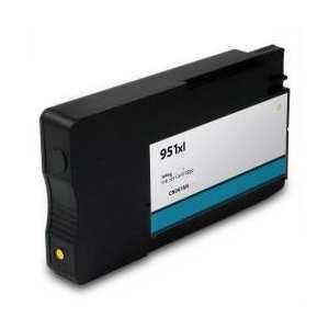 Remanufactured HP 951XL Yellow ink cartridge, High Yield, CN048AN