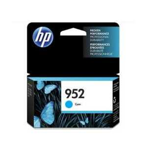 Original HP 952 Cyan ink cartridge, L0S49AN